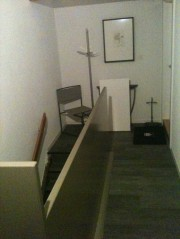 Balustrade d'escalier, selon désir client