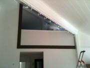 Balustrade pleine pour fermeture mezzanine